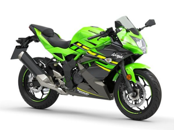 Ninja 125 Lime green - graphit gray 2109