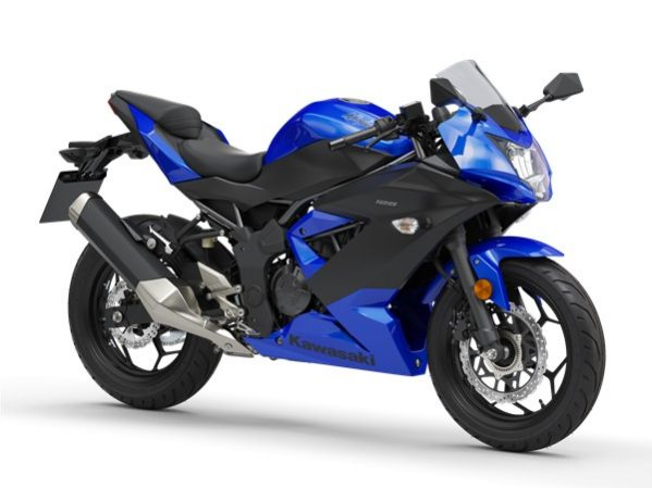 Ninja 125 plasma blue - metallic black 2019