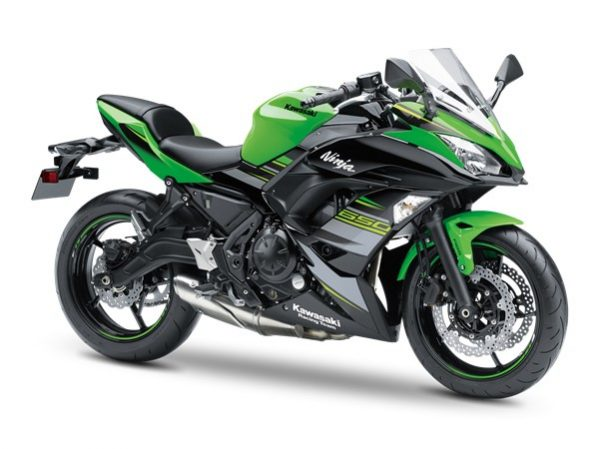 Ninja 650 KRT Edition Lime Green 2019