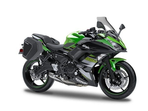 Ninja 650 Tourer Lime Green - schwarz 2019