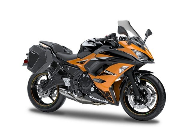 Ninja 650 Tourer schwarz - orange 2019