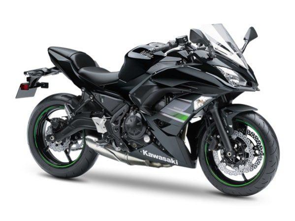 Ninja 650 schwarz 2019