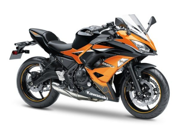 Ninja 650 schwarz - orange 2019