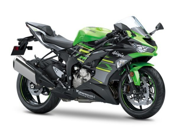 Ninja ZX-6R Lime Green - metallic graphit 2019