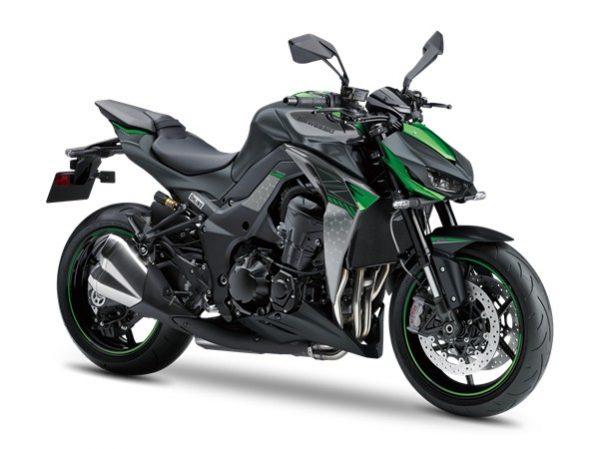 Z 1000 R Edition schwarz- grün 2019