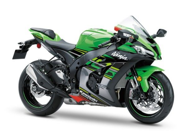 ZX 10 R KRT Replica Lime Green - graphit 2019
