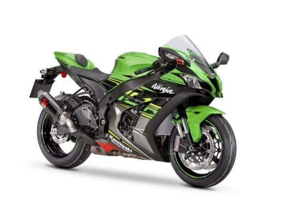 ZX 10 R Performance Lime Green - graphit 2019